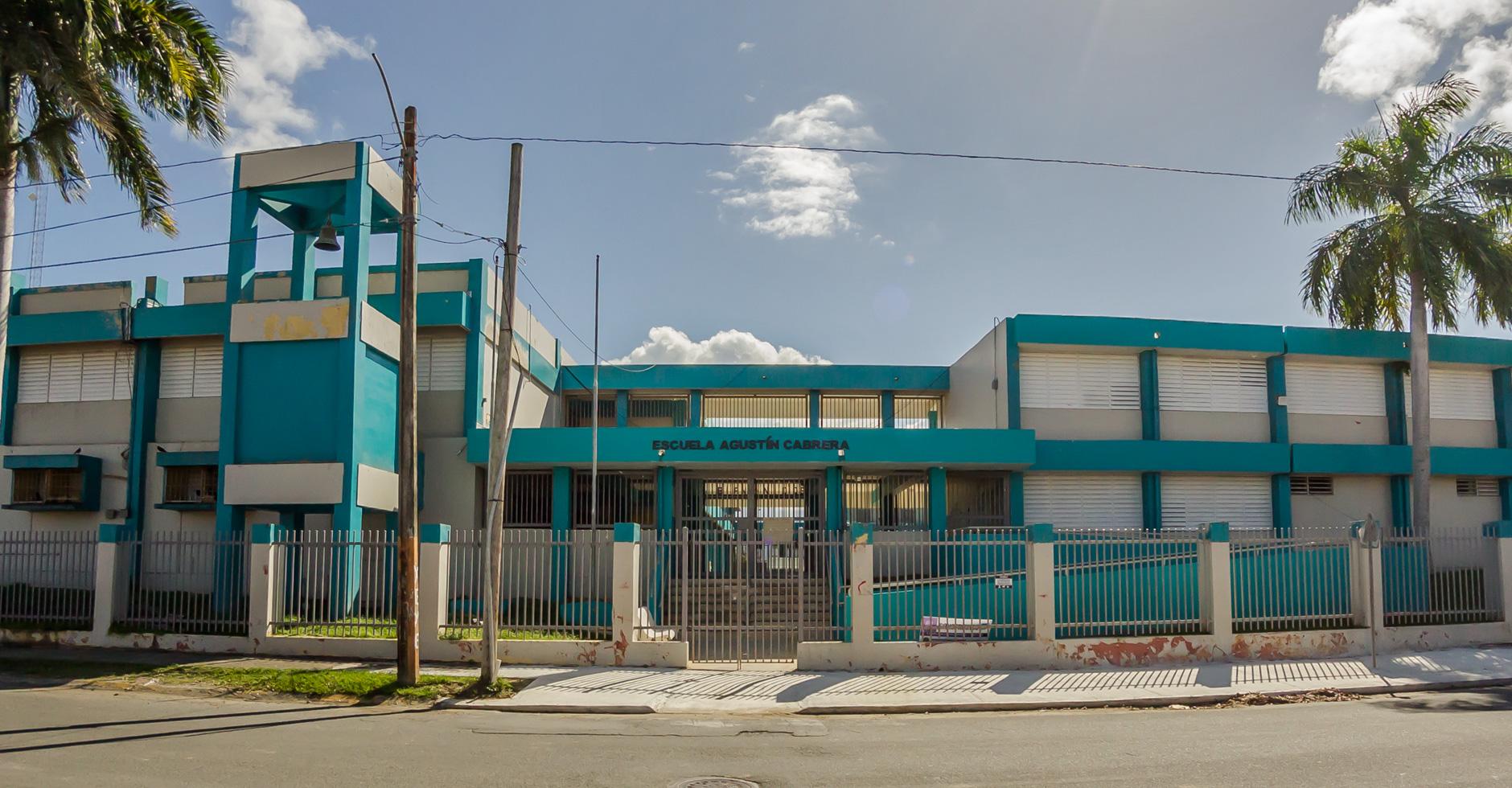 """Escuela Agustín Cabrera (""""La 4"""")"""
