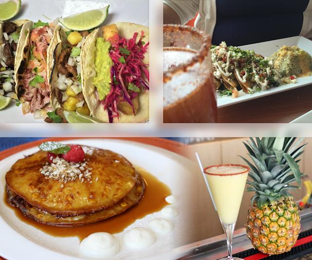 Tomate Mexican Fusion & Margarita Bar, Isla Verde, Carolina, Puerto Rico. Comida Gratis en día Acción de Gracias.