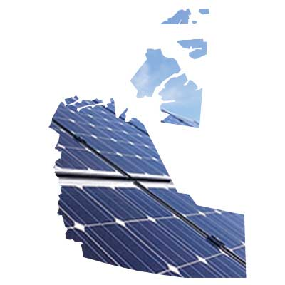 Solar energy services for Yellowknife, Inuvik and all of NWT.  Full service engineering, installation, and commissioning of solar panel systems.