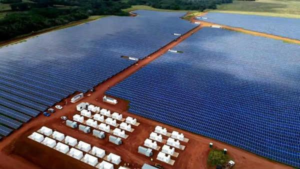 Solar Power Array with Battery Storage