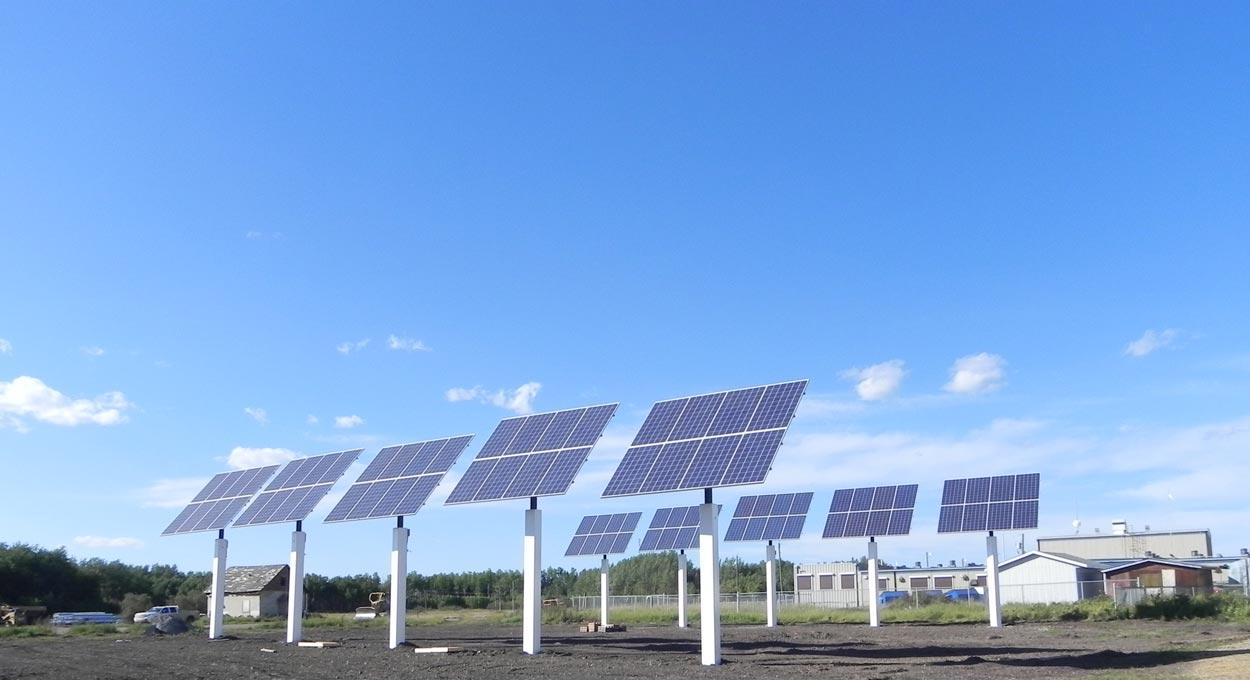 Indigenous Solar Power Installation Alberta