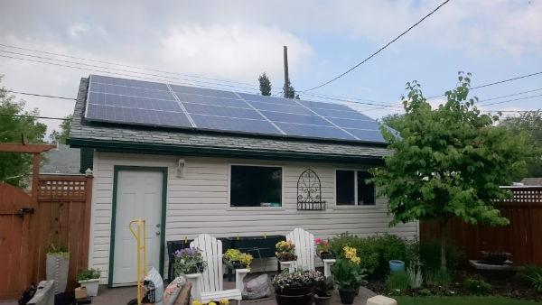 Edmonton Solar Panels Installed