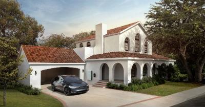 Tesla Tuscan Solar Roof Tile Alberta