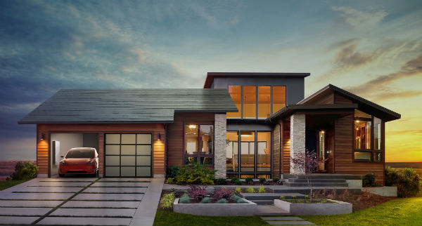 Solar Panel Roof Shingles >> Tesla S Solar Roof In Alberta What You Need To Know Kuby Energy