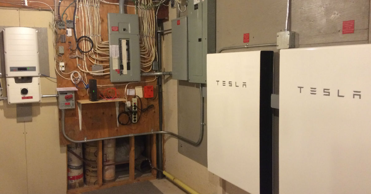 The First Tesla Powerwall2's in Alberta!