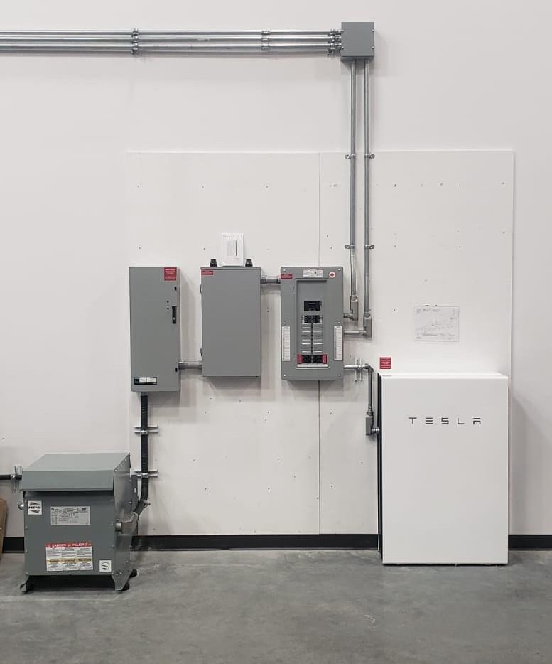 Commercial Tesla Powerwall Canada