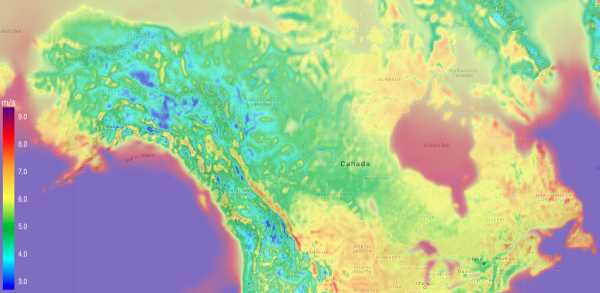 Wind Energy Potential Map Canada