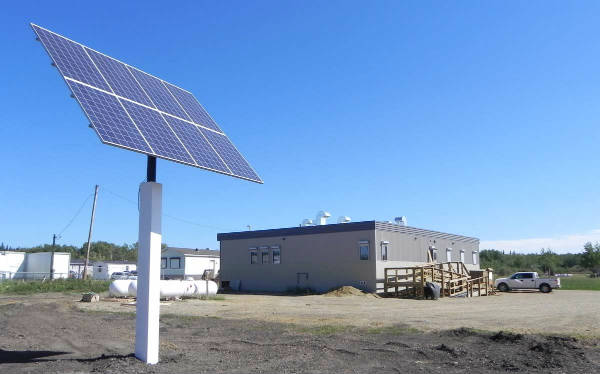 First Nation Solar Panels Alberta