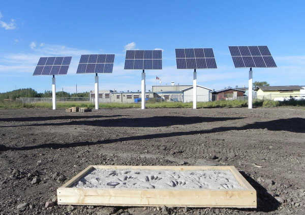 Solar Panels First Nation Alberta