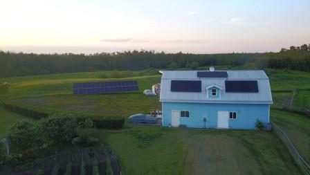 Alberta Farm Solar Panels