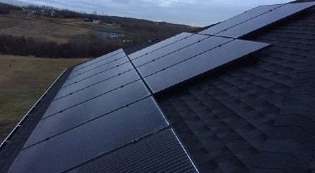 Black Solar Panels Edmonton