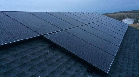 Black Solar Panels Edmonton2