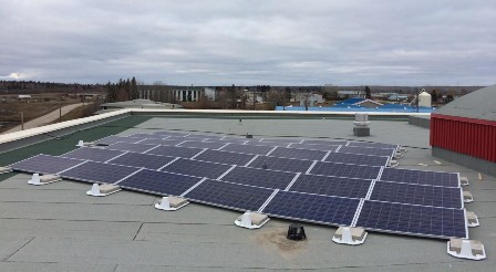 Fort Simpson NWT Solar Panels