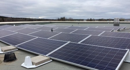 Fort Simpson NWT Solar Panels Commercial