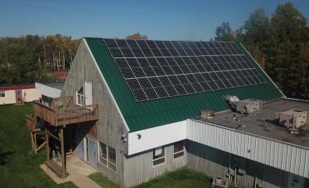 Beaver Lake Cree Nation Solar Panels