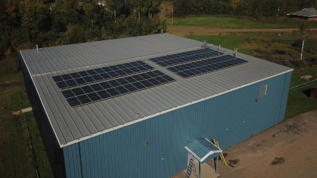 First Nation Solar Power System