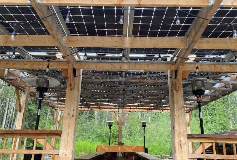 Solar Canopy BIPV Edmonton