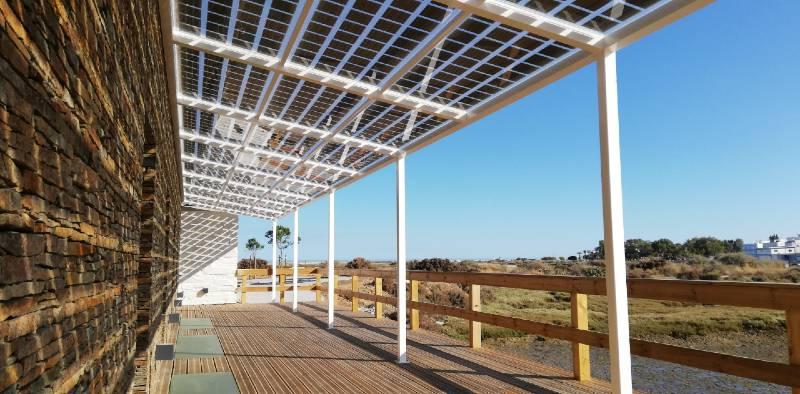 Canopy BIPV Solar Panels