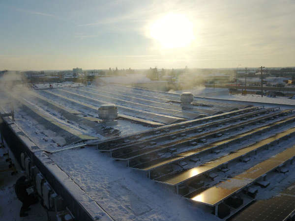 Barrhead Aquatics Centre Solar Power System