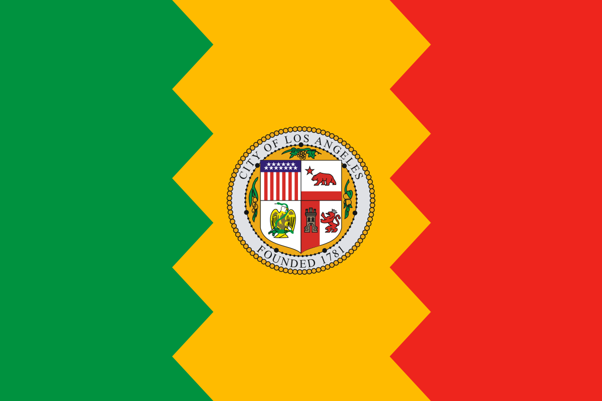 los-angeles-flag
