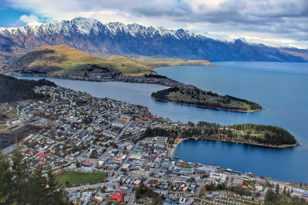 queenstown-aerial-view