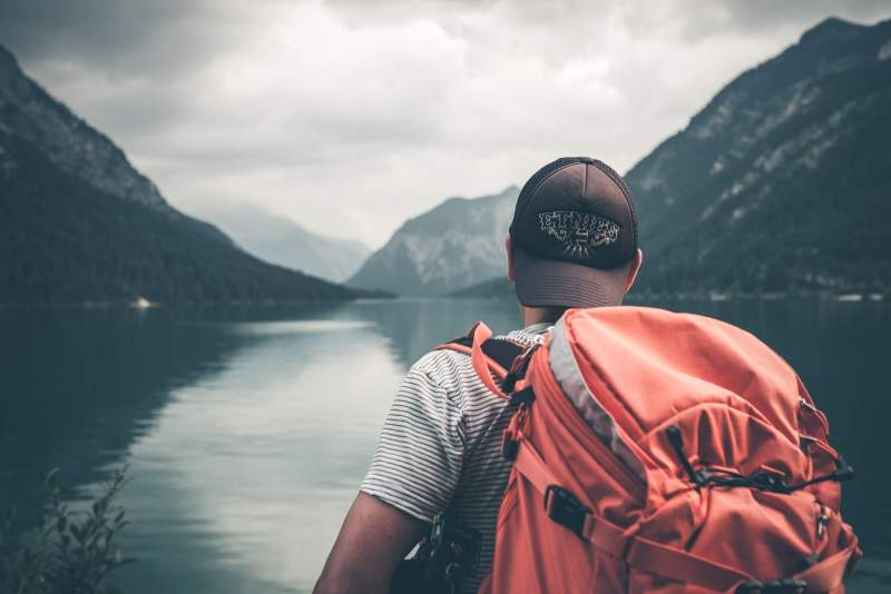 male-backpacker