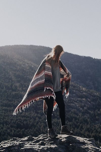 female-hiker-with-blanket