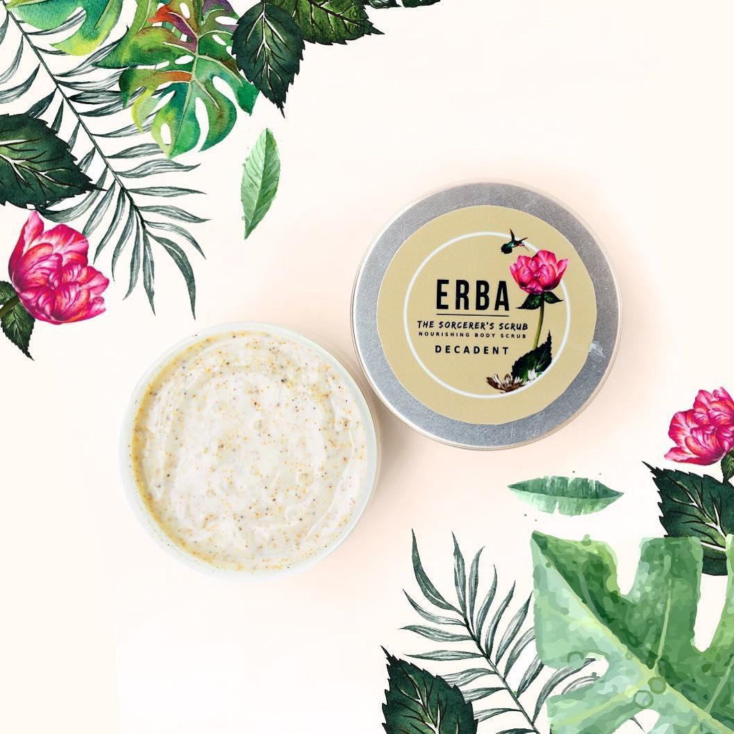 Cleansing Gel Body Scrubs Serum By Erba Ovale Aloe Vera Decadent Scrub