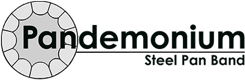 Pandemonium logo - the client on a project by THEUXDESIGNER