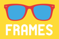 Frames logo - the client on a project by THEUXDESIGNER