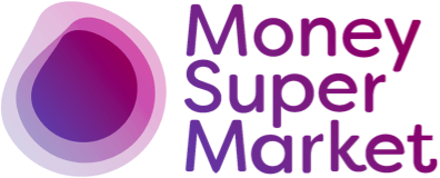 MoneySuperMarket logo - the client on a project by THEUXDESIGNER