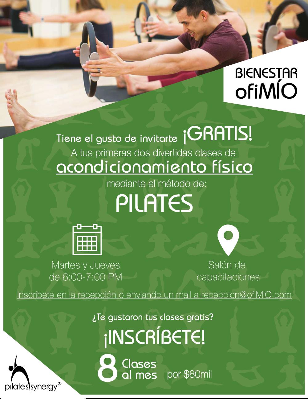 Pilates en ofiMÍO