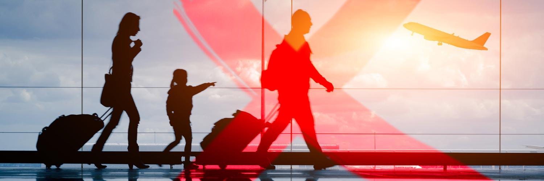 Prórroga de suspensión temporal de vuelos internacionales hasta el 26 de abril de 2020