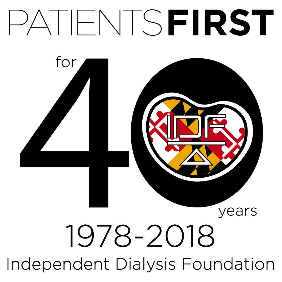 40 Years IDF Logo