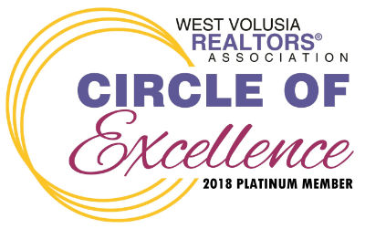 West Volusia Realtors Association Circle of Excellence 2016  Logo