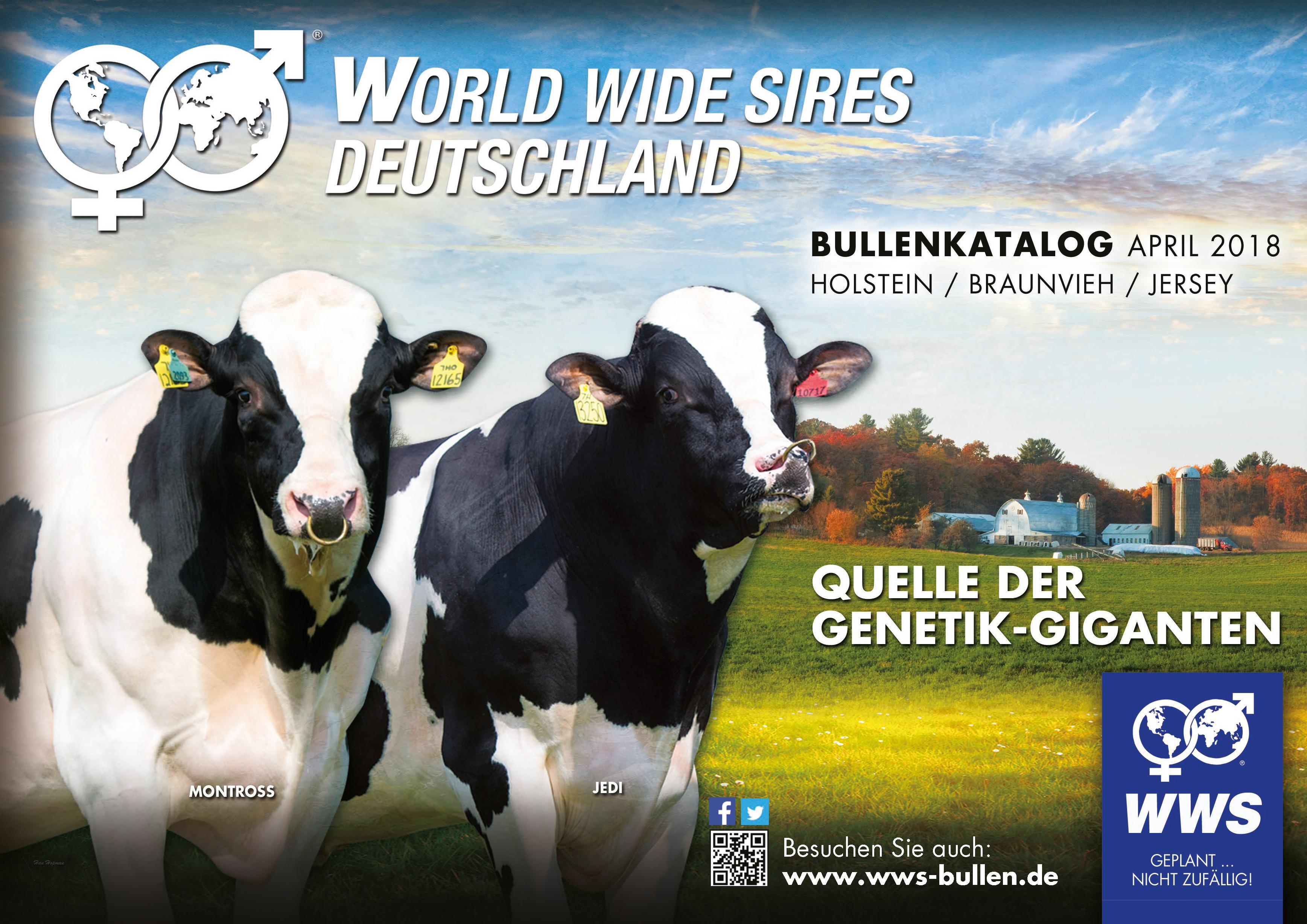 Die besten Hornlosbullen der Rassen Holstein und Braunvieh!