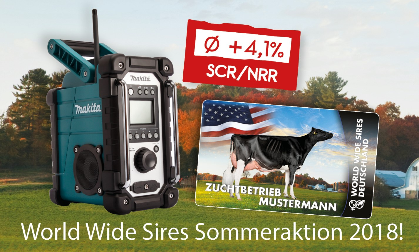 World Wide Sires Sommeraktion 2018