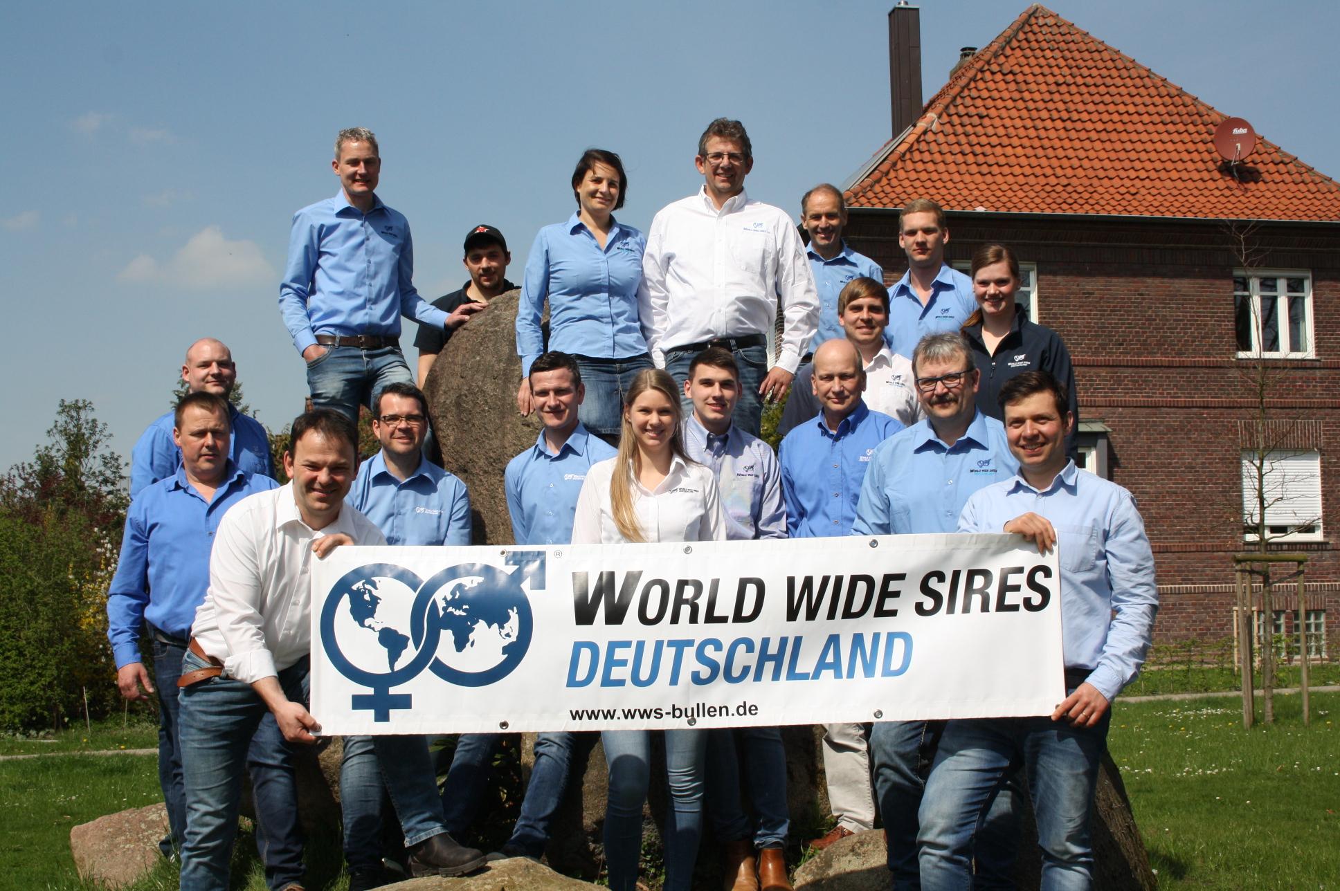 4 neue Außendienstmitarbeiter im Team von World Wide Sires Deutschland!