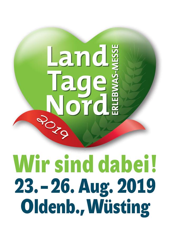 LandTage Nord 2019 - Wir sind dabei!