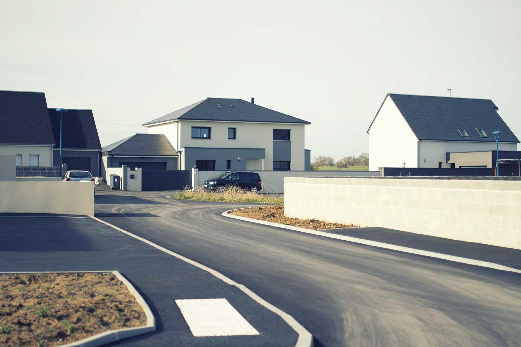 Le Clos des Pins, terrains à bâtir, maisons de ville et logements locatifs à Lion-sur-Mer - SAPI