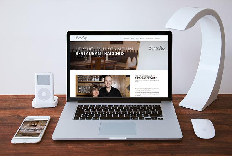 Fine Art Food Solutions - Projekt - Homepage - Restaurant Bacchus Unterensingen