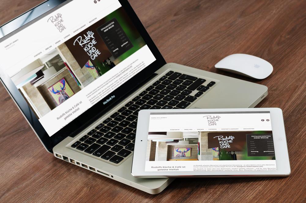 Fine Art Food Solutions - Projekt - Homepage - Rudolfs Küche & Café