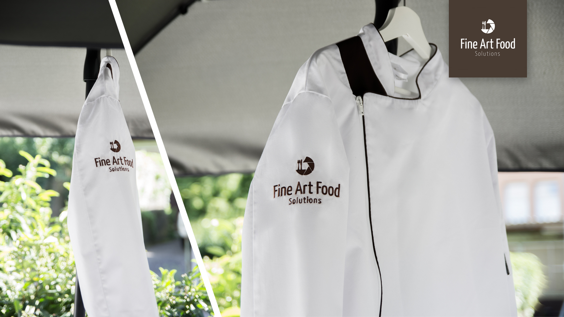 Fine Art Food Solutions - Kochjacke - Chef Jacket