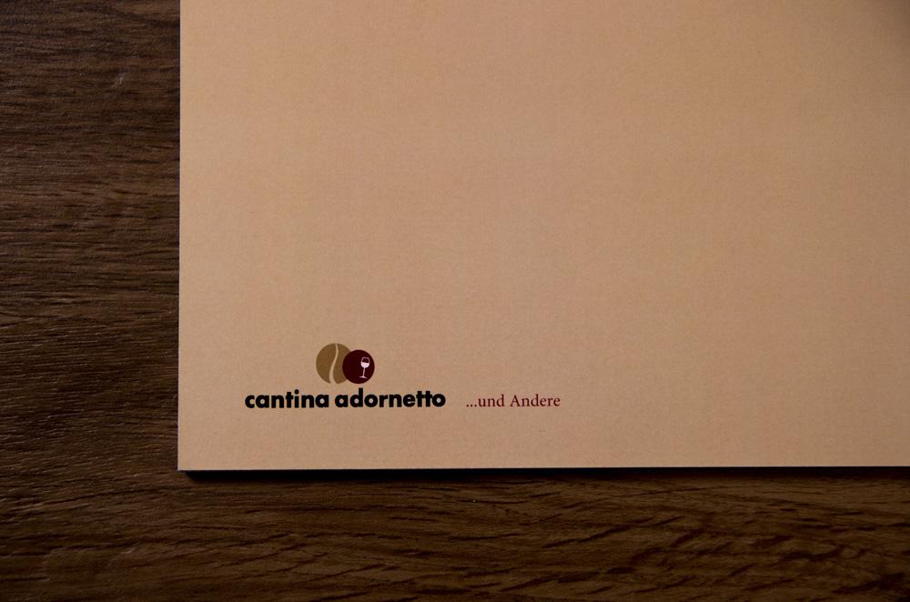 Fine Art Food Solutions - Projekt - Weinkarten Cantina Adornetto