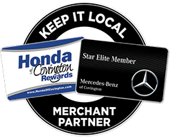 Keep It Local. Honda of Covington Rewards, Star Elite Member. Mercedes-Benz of Covington. Merchant Partner.