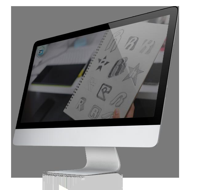 logos on mac screen