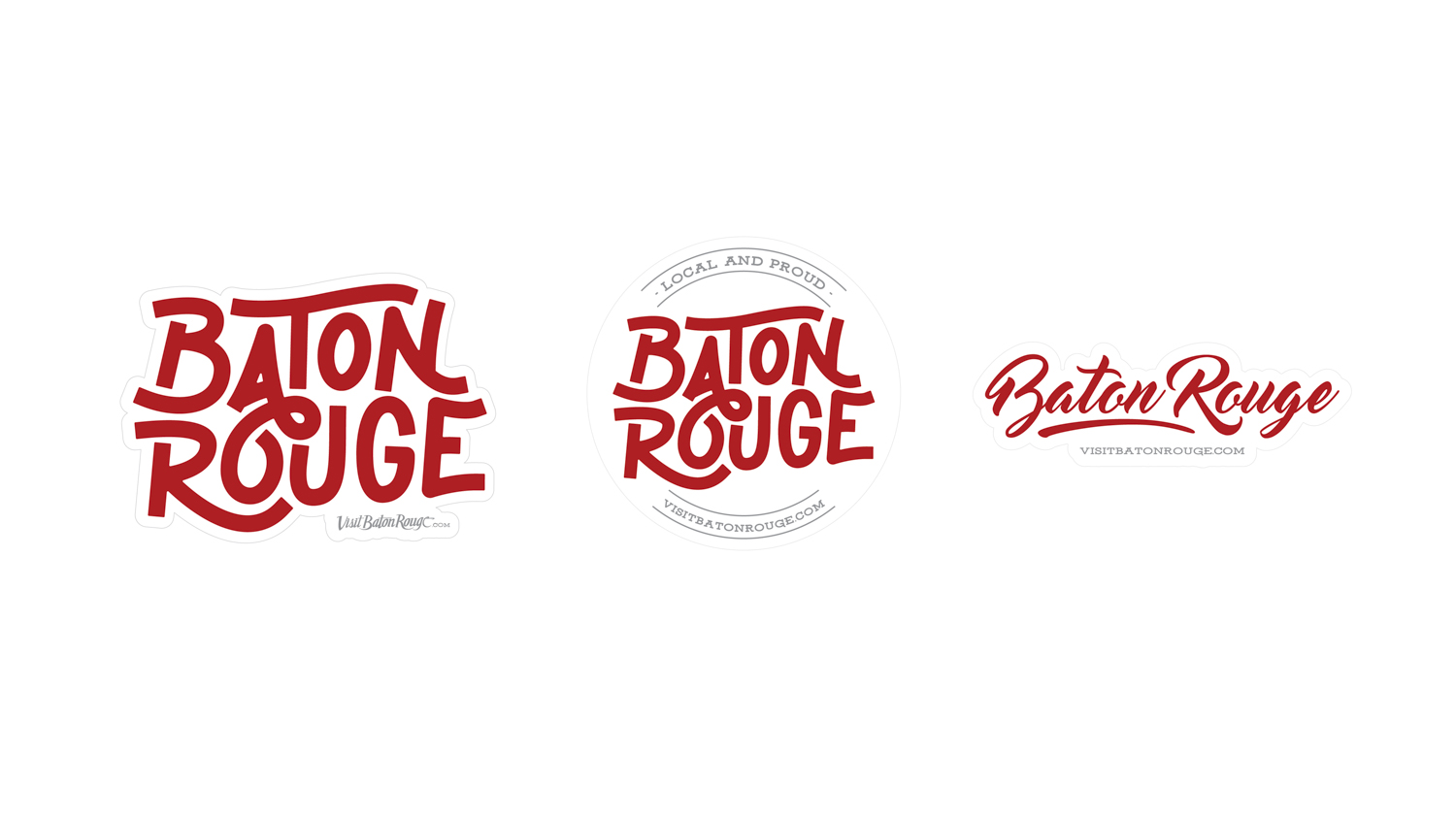 Visit Baton Rouge | Swag: Stickers