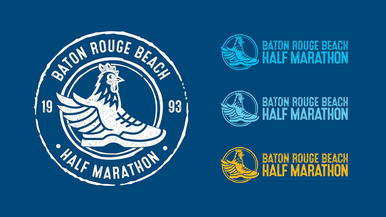 Baton Rouge Beach Marathon | Logos