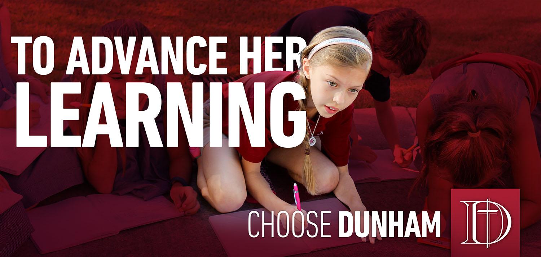 Dunham School | Advance Her Learning