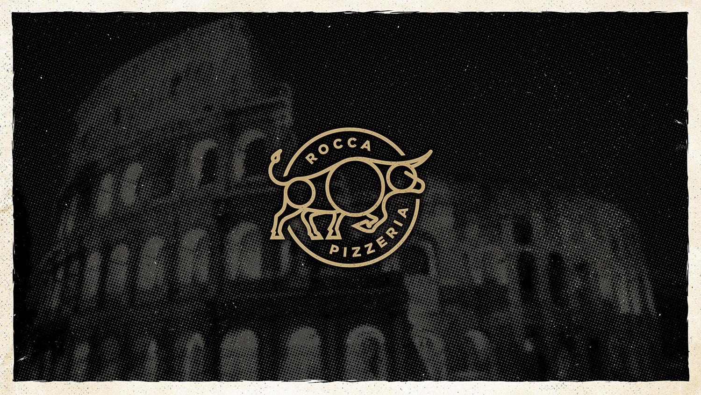 Rocca Pizzeria | Secondary Logo Mark